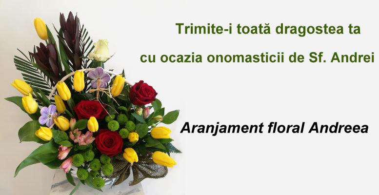 Oferă Flori De Sf Andrei Buchete și Aranjamente Florale Flori