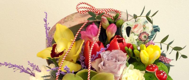 Oferă Flori şi Mărţişoare De 1 Martie